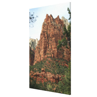 Angels Landing Canvas Print