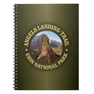 Angels Landing Spiral Notebooks