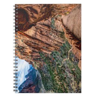 Angel's Landing Trail Zion National Park - Utah Spiral Note Book