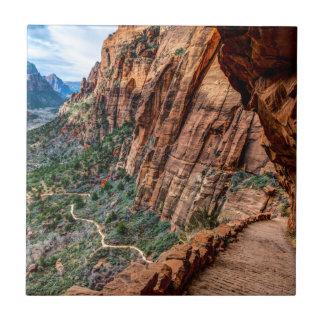 Angel's Landing Trail Zion National Park - Utah Tile