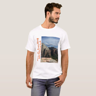 Angel's Landing Zion National Park 2 Sided Tee Shi