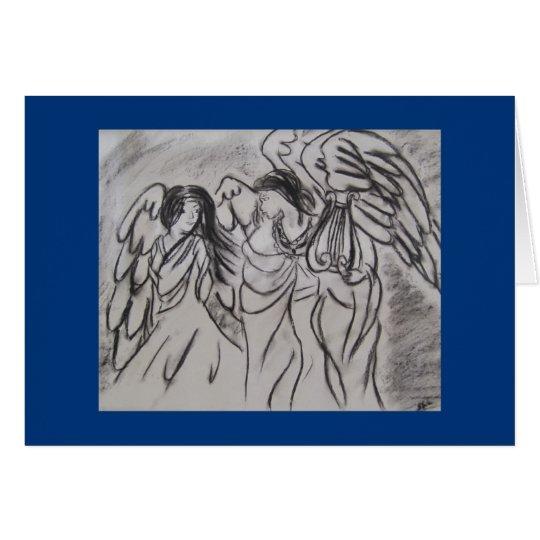 Angels Notecard