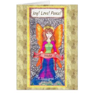 Angels of Earth Yule Solstice Card