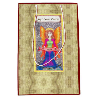 Angels of Earth Yule Solstice Medium Gift Bag