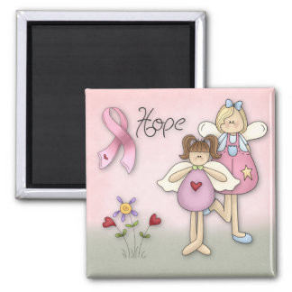 Angels of Hope Breast Cancer Awareness Magnet