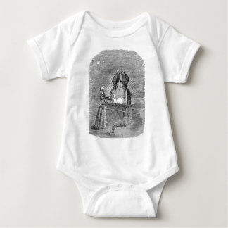 Angels over the Ark of the Covenant Baby Bodysuit