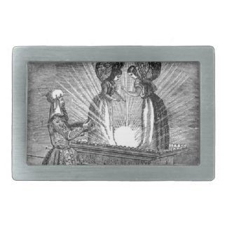 Angels over the Ark of the Covenant Belt Buckles