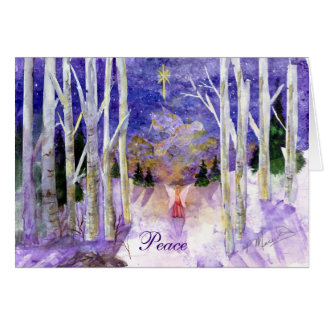 """Angel's Peace Dove"" Card"