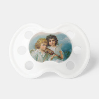 Angels Singing and Playing Violin Pacifier