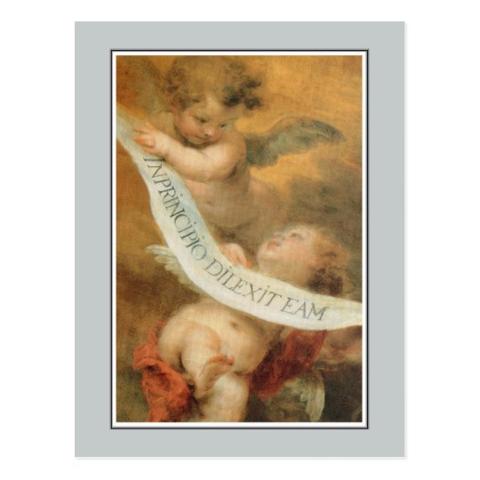 Angels,  The Immaculate Conception, Murillo Postcard