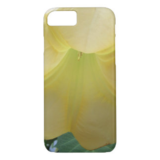 Angels Trumpet Golden Yellow Flower iPhone 7 Case