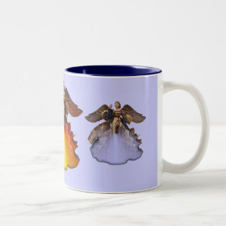 ANGELS Two-Tone COFFEE MUG