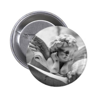 Angels Watching Over Me 2 Inch Round Button