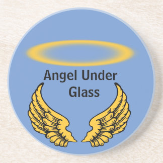 Angels Wings and Halos Customize Coaster