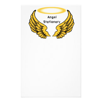 Angels Wings and Halos Customize Stationery