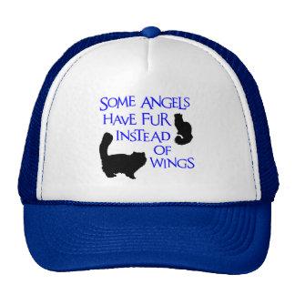 ANGELS WITH FUR TRUCKER HAT