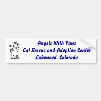 Angels With Paws Bumper Sticker