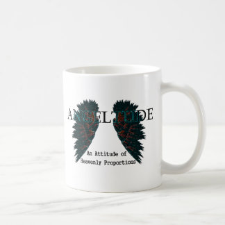 Angeltude three coffee mug