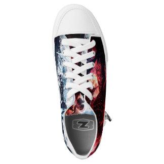 """""""Angelz & Demonz"""" Low Topz Low-Top Sneakers"""