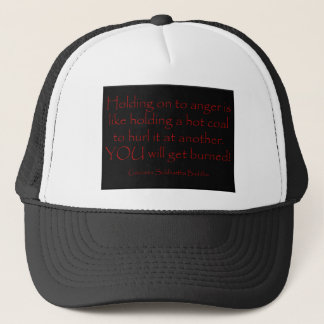 Anger is a  Hot Coal t-shirt Trucker Hat