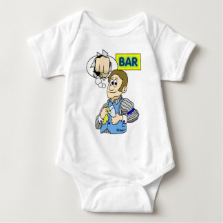 Anger Management Baby Bodysuit