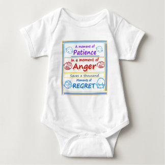 Anger Management : Motivational Moments Baby Bodysuit