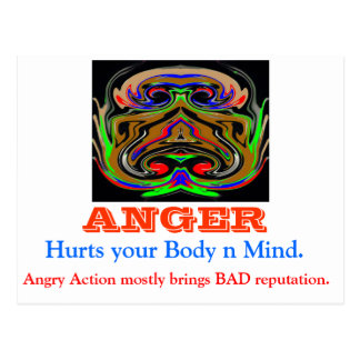 ANGER Management Postcard