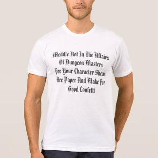 Anger Not The DM T-Shirt