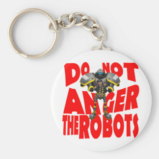 Anger Robots Keychain