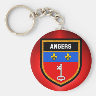 Angers Flag Keychain