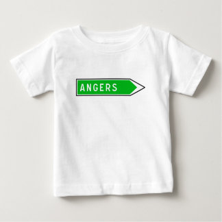 Angers, Road Sign, France Baby T-Shirt