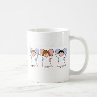 Anges de grand-mamans mug blanc