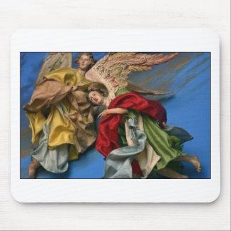 anges de Noël Tapis De Souris