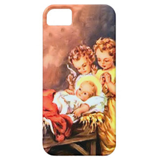 Anges et bébé Jésus Coques iPhone 5