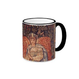 Anges vintages, angélus Laudantes par Burne Jones Mug Ringer