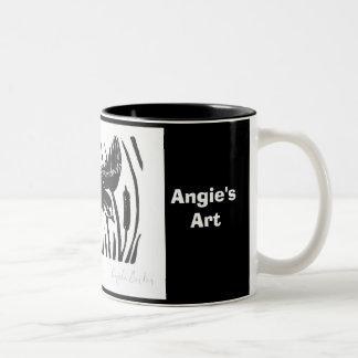 Angie's Art Barn Swallow Mug