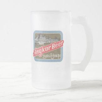 Angkor Beer Frosted Glass Beer Mug