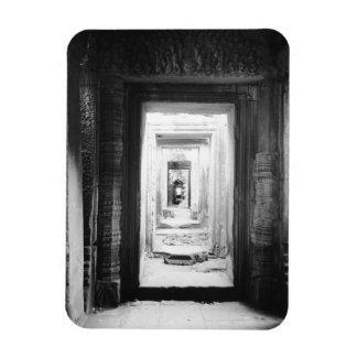 Angkor Cambodia, Doorways Preah Khan 2 Magnet