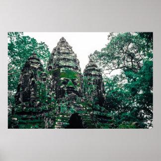 Angkor Ruins Poster