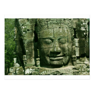 Angkor Smiling Face Postcard