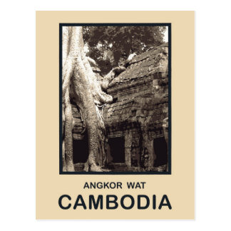 Angkor Vat Cambodge Carte Postale