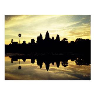Angkor Vat, Cambodge - carte postale