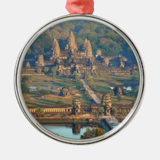 -Angkor-WAT-Angie. Metal Ornament