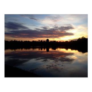 Angkor Wat at sunrise Postcard