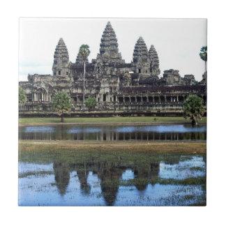 Angkor Wat Cambodia Temple Travel Photography Tile