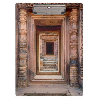 Angkor Wat Entryway, Cambodia Clipboard