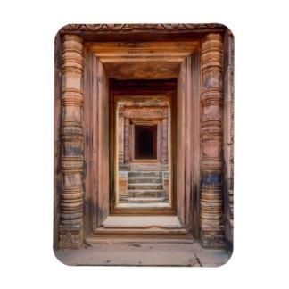 Angkor Wat Entryway, Cambodia Magnet