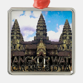 Angkor Wat Metal Ornament
