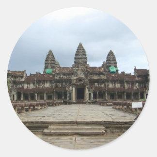 Angkor Wat Round Sticker