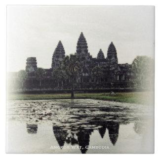 Angkor Wat Temple Cambodia Ceramic Tile